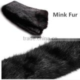 2015 Fashion Men Mink Fur Collar For Jecket / Coat                                                                         Quality Choice