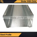 Stubs With Dots/Metal Frame Furring channel/Galvanized Steel Profile/Q195 Steel Profile/Metal Profile