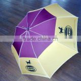 70cm*8k strong fiberglass ribs and aluminum shaft grand automatic straight UV golf sun umbrellas