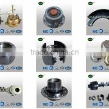 Land trailers manufacturers semi trailer axle trailer parts brake shoe assembly