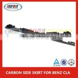 CLA-CLASS REZ STYLE CARBON FIBER SIDE SKIRTS AMG FOR MERCEDES CLA45 200 250 260