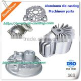 Alibaba express trade assurance China foundry oem custom made cnc machining aluminum die casting parts for machine