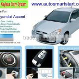 Keyless Go Button Start Remote Control Car Starter Upgrade Car Alarm System for Hyundai Accent