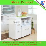 2013 Economical And Practical PVC microwave shelf Kitchen Cabinet kitchen set LF-KF-0085