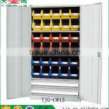 Taiwan Metal 2 Door Storage Cabinet With 2 Shelves 2 Drawer For Workshop TJG-CW13