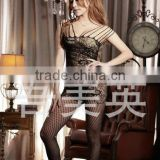 Fishnet Body Stocking Anti Embolism Thigh High Medical Compression Stockings With Closed Toe