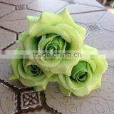 elegant wedding flower head door decoration artificial cheap wholesale rose head