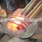 High quality induction heating rod forging furnace