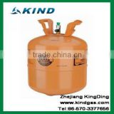 High quality 6.5kg disposable cylinder packing iso-butane Refrigerant gas R600a for sale