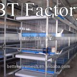 New design BT Factory 2015 H type chicken poultry cages for broiler in Negria poultry farm(Factory price)