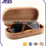 birch wood Material and original birch wood Color bamboo box /sunglass bamboo boxes