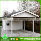 Professional supply Cheap price prefab wooden carport/wood carport