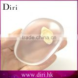 New fashion silicone transparent washable foundation powder puff for BB cream