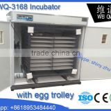 Best price hold 3168 eggs commercial poultry incubator, chick incubator, egg incubator for sale in