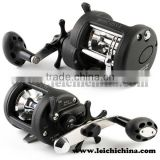 Low price corrosion proof stainless steel construction big game fishing reels
