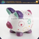 Wholesale Handprint frame clay with good quality baby coin bank