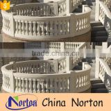 Natural stone modern balcony balustrade designs for sale NTMF-MB010Y