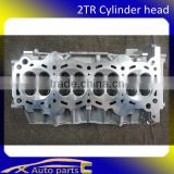 2TR cylinder head for toyota auto parts, auto parts toyota hilux 16V 11101-75200 11101-75240