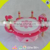 wholesale new design wooden toy drum set for kids best wooden toy drum set for kids W07A108