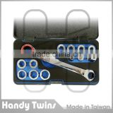 All in One Ratcheting Wrench Set