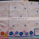 100% Cotton printed handkerchief, ladies printed handkerchief