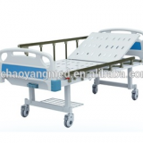 CY-A101 Hospital furniture Cheap Price One Crank Manual Hospital Bed