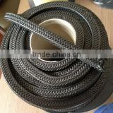 black PTFE graphite braided packing
