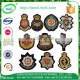 OEM High Quality Custom embroidery epaulette, military uniform shoulder board, emblem badges