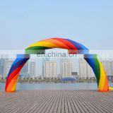 2017 best popular inflatable rainbow arch,inflatable tire advertising,inflatable arch rental