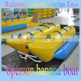 Hot sales inflatable banana boat for adventure