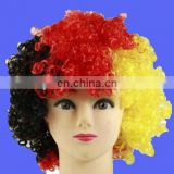 Factory direct sell 2017 Germany Afro Wig for Germany football fans