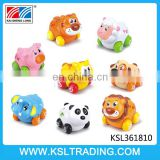 High quality toys kids mini friction power cartoon animal