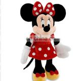 Minnie Mouse Plush - Red Dress toy