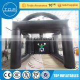 Hot sale inflatable tent for soccer football goal footdart game