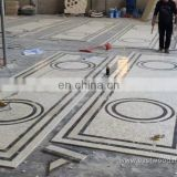 Mixed color Marble Mosaic pattern