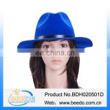 Wholesale ladies cheap party fedora hat