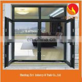 aluminium frame glass side hung door