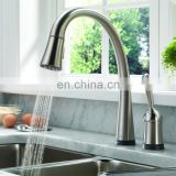 China kitchen sink faucet with pull out spray