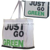 juco foldable shopping bag,jute bag,tote bag