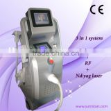 Tattoo Removal Laser Equipment Nd Yag Laser Machine Prices Tattoo Removal System / Laser Yag / Erbium Yag Laser Permanent Tattoo Removal