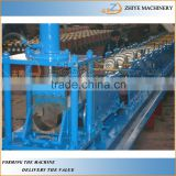 Galvanized Steel Gutter Roll Forming Machine Equipment Manufacturer /Gutter machine for sale