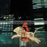 Festival decorative 3d led motif light animals