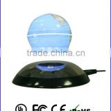 "China supplier novelies floating products magnetic levitating globe suspending globe floating 3"" lighting globe"