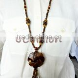 Women Natural Coconut Shell Necklace Whloesale Price