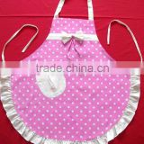 Customized Design Cooking Apron, Cotton/Polyester Kitchen girl pretty sexy Apron made china