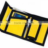 Factory price!Best selling classic nylon polyester wallet with coin pockets