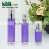 lucure purple lotion care plastic acrylic bottle for decorative empty 15/30/50/100/120ml
