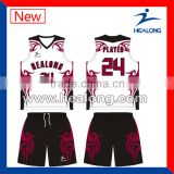 2014 new design sleeveless basketball uniform                                                                         Quality Choice