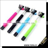 New technology hot new products for 2015 in china selfie stick with bluetooth shutter button
