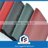 Colorful Leather paper used in folder file /tree bark for stationery book binding&cover/A4 paper